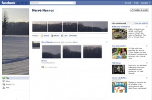 Profil facebook personnalisé