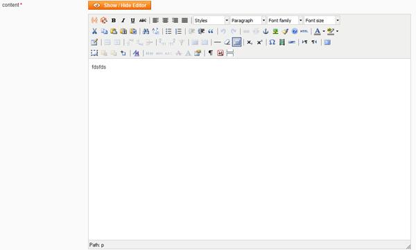 Magento : Utiliser l'éditeur wysiwyg sur un champ d'administration personnalisé
