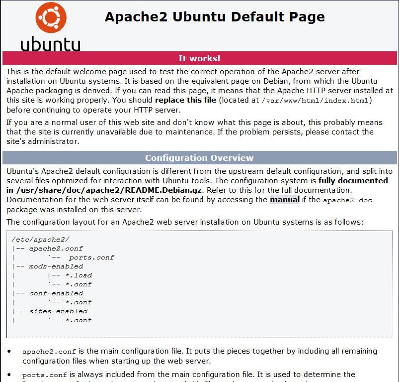 Ubuntu Server 14.04 « Trusty Tahr » : Installation d'apache, php et mysql ( lamp)