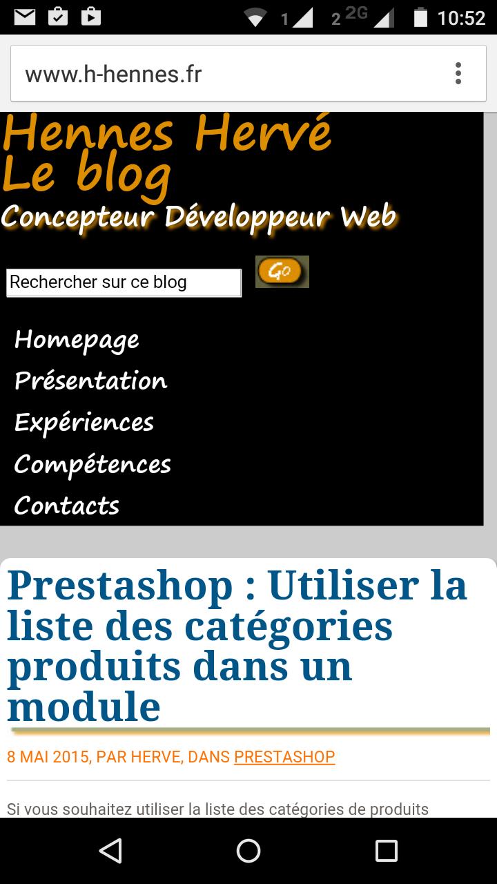 Optimisation du design du blog pour les mobiles