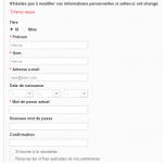 Prestashop : Ajouter des champs dans l'édition client