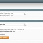Magento : Widget lien ajout au panier