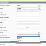 Magento : Ajouter des nouveaux attributs aux formulaires de création de compte