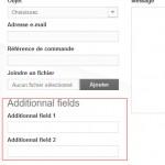 Prestashop : Ajouter des champs au formulaire de contact