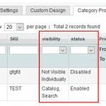 Magento : Ajouter des filtres dans la grid des produits d'une catégorie