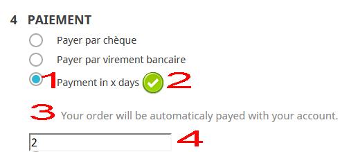Prestashop paiement